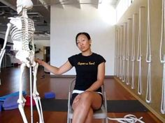 Yoga for Sciatica Part 2 - piriformis and external rotators from Tree of Life Yoga (GREAT teachers!)