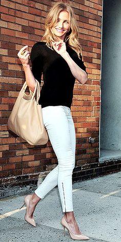 white skinny