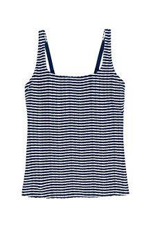 Women's Textured Stripe Square Neck Tankini Top Tankini Top, Women Swimsuits, Suits For Women, Bathing Suits, Stylish, Lady, Women's Swimwear, Clothes, Tops