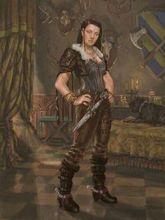 Halia Thornton,   Guildmaster Miner's Exchange Zentharim Member