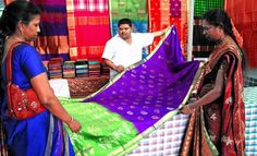 Handloom expo off to a colourful start