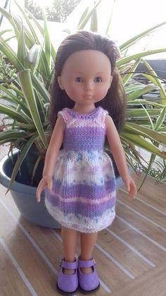 Bonjour à toutes comme promis voici le tuto en français de Janice Helge de la petite robe (petites filles modèle ).Par contre je ne peux pas... Crochet Doll Clothes, Doll Clothes Patterns, Clothing Patterns, Nancy Doll, Diy Doll, Beautiful Dolls, Dressing, Blog, Summer Dresses