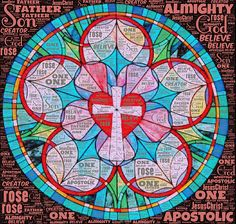 Apostle's Creed gorgeous Reformation Sunday, Martin Luther Reformation, Luther Rose, Nicene Creed, Prayer Partner, Apostles Creed, Protestant Reformation, Girls Bible, School Coloring Pages