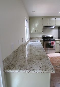 new granite counter