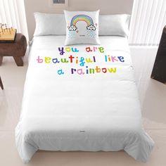 Rainbow Duvet// lovely :))