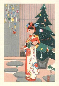 vintage Christmas card.                                                                                                                                                                                 もっと見る                                                                                                                                                                                 もっと見る