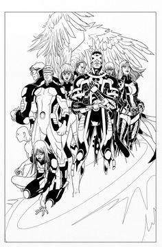 Buzz Comics, le forum comics qui suicide Harley Quinn... - Afficher un message - X-Men: No More Humans (Mike Carey / Salvador Larroca)