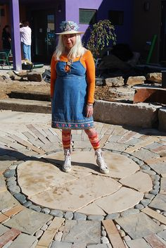 Tobi Wilde, Earth Sculptress who designed the stone landscaping at the Art Therapy building. Southwestern College, Stone Landscaping, Historical Images, Art Therapy, Earth, Landscape, Space, History, Building