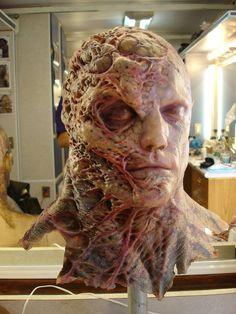 Special Effects Makeup Monster Makeup, Monster Mask, Arte Horror, Horror Art, Character Makeup, Character Art, Creature Design, Creature Feature, Tyrant Resident Evil