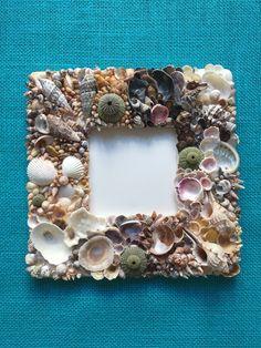 Seashell frame. By Anastasia Touzanidis.