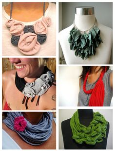 Inspiration and Flattery: chronicles of Jamila Jo — Etsy Roots: T-Shirt Jewelry