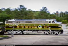RailPictures.Net Photo: SMPX 6147 Stone Mountain Railroad EMD FP7 at Stone Mountain, Georgia by Jordan Hood