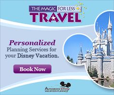 Read about the benefits of using The Magic For Less Travel, an authorized Disney vacation planner.