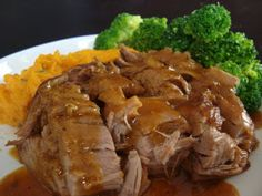 It's been awhile since I've used my crockpot and today I dusted it off to put it to good use. Today's crockpot contents is Maple & Brown Sug...