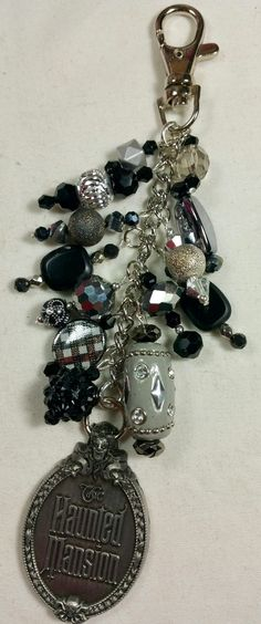Haunted Mansion Purse Charm   ~ available at https://www.etsy.com/shop/magic365