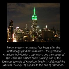 Empire State Building refuses to light up in honor of Mother Teresa  #WakeUpAmerica    http://m.nydailynews.com/new-york/no-empire-state-building-refuses-light-honor-mother-teresa-article-1.181947…