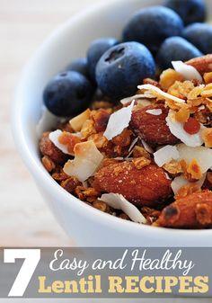 7 Easy & Healthy Lentil Recipes