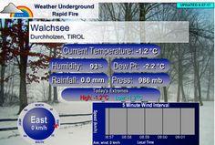 Weather Underground, Das Hotel, Interesting Facts, Vacation