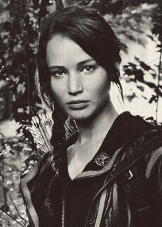 The Hunger Games. Katniss! She's so gorgeous.