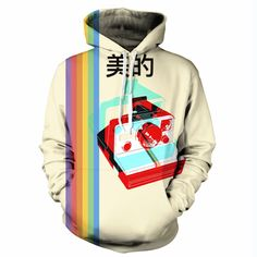 Vaporwave Clothing, Anime Boyfriend, Glitch, Fleece Fabric, Polaroid, Fashion Outfits, Hoodies, Random, Sweaters