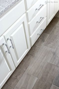 Porcelain tile floor that looks like wood! http://www.wayfair.com/Emblem-20-x-7-Porcelain-Field-Tile-in-Gray-EM037201P2-DAI5081.html?SSAID=687298&refid=SS687298