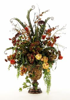 37 best tuscan flower arrangements images in 2019 floral rh pinterest com tuscan floral arrangement