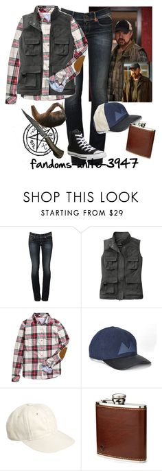 """""""Comic Con Day 3: Bobby Singer Cosplay"""" by fandoms-unite-3947 ❤ liked on Polyvore featuring BOBBY, Replay, H&M, Marc by Marc Jacobs, J.Crew, Aspinal of London and Converse"""