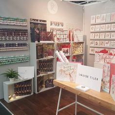 Here we are @pglivelondon! Don't forget to come and see us on stand 204. Lots of lovely gift packaging to see!