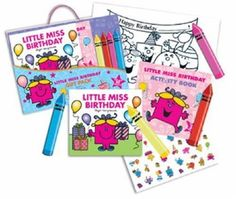 Little Miss Birthday Gift Pack: Amazon.co.uk: Roger Hargreaves: Books
