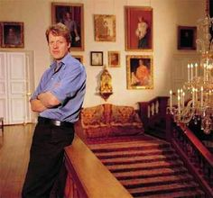 Charles Spencer, 9th Earl Spencer & Princess Diana's youngest brother.