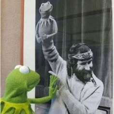 Kermit & Jim Henson :(