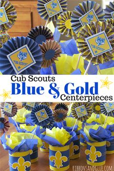 Image result for cub scout blue and gold banquet centerpieces