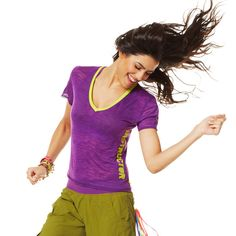 Cut Me Off Instructor V-Neck | Brand New ZumbaWear Gold collection save 10% with affiliate code 10SALE on zumba.com  http://www.zumba.com/user/affiliates/affiliate-shop/?affil=10sale