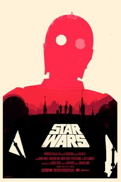 Olly Moss' take on the Star Wars Trilogy.
