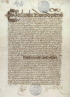El Tratado de Tordesillas fue el compromiso suscrito en la localidad de Tordesillas  el 7 de junio de 1494, 1 entre los representantes de Isabel y Fernando, reyes de Castilla y de Aragón, por una parte, y los del rey Juan II de Portugal, por la otra, en virtud del cual se estableció un reparto de las zonas de navegación y conquista del Océano Atlántico y del Nuevo Mundo mediante un meridiano situado 370 leguas al oeste de las islas de Cabo Verde.
