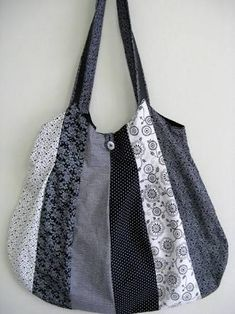 Image result for bolsas feitas de tecido