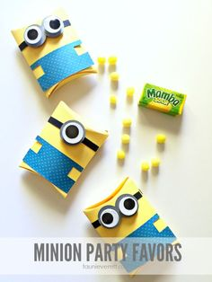 Minion Party Favor P