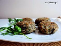 Kotlety z pieczarek. | Eat Green