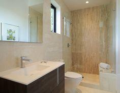 "Vanity: Travat Faucet: Cubo Wall/Floor/Shower: Ferroker Titanio 17""x26"""