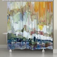 Glacier Bay Shower Curtain, Glacier Bay by James Burghardt