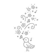Broken Box Stock: FREEbie: Robin's Tune Digi-Stamp