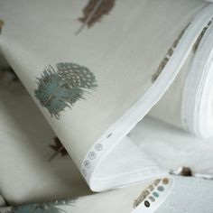 Complement your soft furnishings with our original Featherdown fabric in stone. With its soft shades of brown, grey and duck egg blue, it has a soft, countryside feel to it that will combine perfectly with your existing neutrals to take you through the year. Duck Egg Blue Cushions, Duck Egg Blue Fabric, Pastel Interior, Interior Ideas, Duck Egg Blue Candles, Jim Lawrence Lighting, Blue Cushion Covers, Candle Shades, Muted Colors