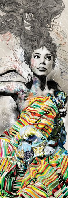 See Gabriel Moreno's spectacular portraits of women - Digital Arts