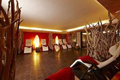 Ruheraum im Amani Spa  Relax room at the African Spa