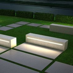 Have you just bought a new or planning to instal landscape lighting on the exsiting house? Are you looking for landscape lighting design ideas for inspiration? I have here expert landscape lighting design ideas you will love. Landscape Lighting Design, Modern Landscape Design, Landscape Architecture Design, Modern Landscaping, Garden Landscaping, Landscaping Software, Landscaping Design, Garden Seating, Outdoor Seating