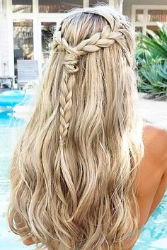 Easy long hairstyles are perfect for such a romantic holiday as Valentine's Day. Save much time with our suggestions. You will look lovely!