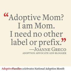 celebrate national adoption month