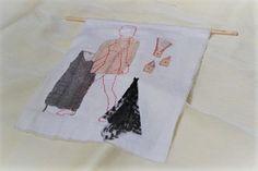 Miriam García Aguirre. Apuntes para (des)bordarse, 1/Notes to (un)embroider oneself, 1. 2017. (Proyecto Tejido recuperado, cuerpo propio/Weave Recovered Project). Tijuana. México. Foto: Sergio Brown Figueredo.