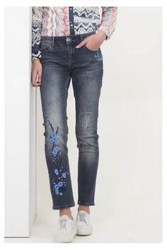 Jeans Irene Desigual. Descobre a coleção primavera/verão 2017!