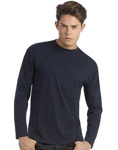 Férfi hosszú ujjú póló B&C 150 LS. Igazi 100% pamutból készült. Európai méretezés S-től 2XL-ig! Őszre-télre-tavaszra ideális!
